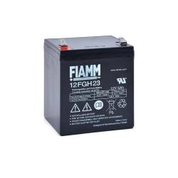 Batteria FIAMM AGM 5Ah per UPS e Gruppi di continuità [12FGH23]