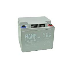 Batteria FIAMM AGM 42Ah per pannelli solari fotovoltaici [12FGL42]