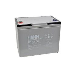 Batteria FIAMM AGM 80Ah per pannelli solari fotovoltaici [12FGL80]