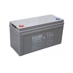 Batteria FIAMM AGM 120Ah per pannelli solari fotovoltaici [12FGL120]