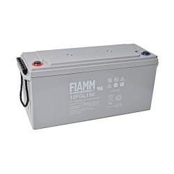 Batteria FIAMM AGM 150Ah per pannelli solari fotovoltaici [12FGL150]