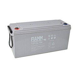 Batteria FIAMM AGM pannelli solari fotovoltaici 150Ah [12FGL150]