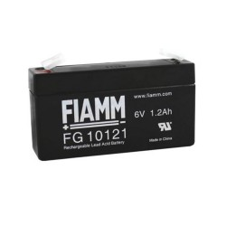 Batteria FIAMM AGM 1.2Ah 6V [FG10121]