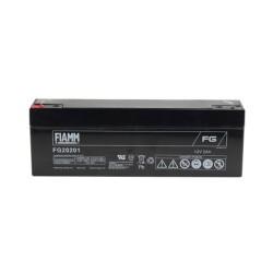 Batteria FIAMM AGM 2Ah per pannelli solari fotovoltaici [FG20201]