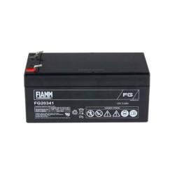 Batteria FIAMM AGM 3,4Ah per pannelli solari fotovoltaici [FG20341]