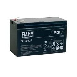 Batteria FIAMM AGM 7.2Ah per pannelli solari fotovoltaici [FG20721]