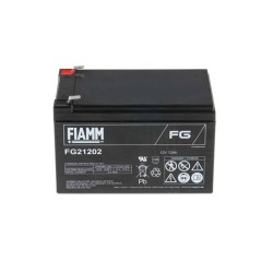Batteria FIAMM AGM 12Ah per pannelli solari fotovoltaici [FG21202]