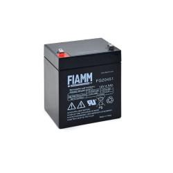 Batteria FIAMM AGM 4,5A [FG20451] per UPS e Gruppi di continuità