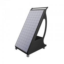 Pyppy 1200W - Generatore mobile su ruote con modulo fotovoltaico