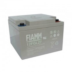 Batteria FIAMM AGM pannelli solari fotovoltaici 27 Ah [FG22703]