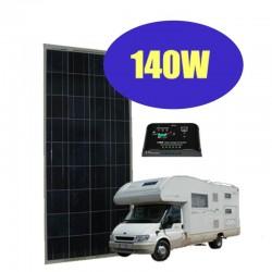 Kit fotovoltaico 140W