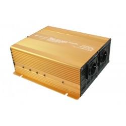 Inverter onda sinusoidale pura 1500W 24V con USB