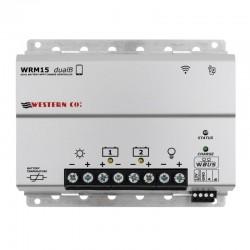 Regolatore di carica MPPT Western Co. 15A Doppia batteria [WRM15-dualB]