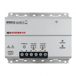 Regolatore di carica MPPT 15A Doppia batteria WRM15 dualB-E