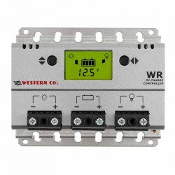 Regolatore di carica PWM Western Co. da 30A con display [WR30]