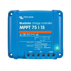 Regolatore di carica MPPT Victron energy BLUESOLAR 15A [MPPT-75/15]