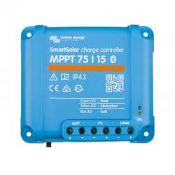 Regolatore di carica MPPT Victron energy SMARTSOLAR 15A [MPPT-75/15]