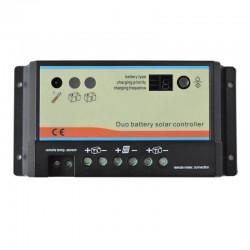 Regolatore di carica DUO 10A per due batterie [EPIPDB-COM 10A]