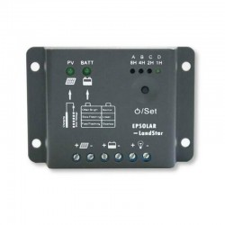 Regolatore di carica EPSOLAR 5A con timer e crepuscolare [LS0512R]