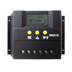 Regolatore carica JUTA 12-24V 50A con Display LCD [CM5024Z]