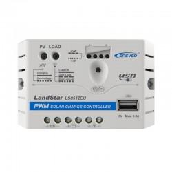 Regolatore di carica EPSOLAR 5A con presa USB [LS0512EU]