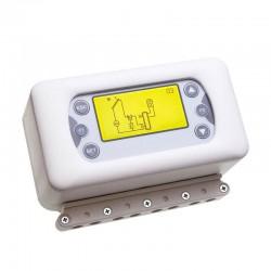 Termoregolatore con display LCD a 3 sonde di temperatura [Tsol503]