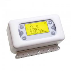 Termoregolatore controllo impianti termici - 5 sonde - display LCD...