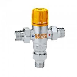 Miscelatore termostatico regolabile Caleffi per impianti solari