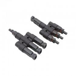 Sdoppiatori - Coppia di connettore Y SC4 per tre moduli solari