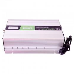 Inverter onda sinusoidale pura 2000W 12V con caricabatterie 230V