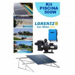 Kit fotovoltaico PISCINA 50-60mc con pompa Lorentz PS2-600 CS-17-1