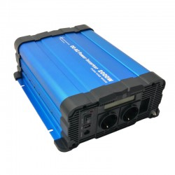 Inverter onda sinusoidale pura 2000W 24V con DISPLAY