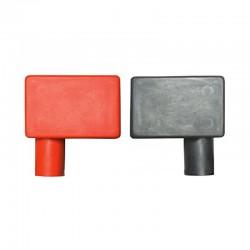 Coppia coprimorsetti per batteria Rosso e Nero - Positivo a sinistra