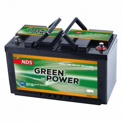 Batteria AGM NDS GREEN POWER 12V 100Ah per camper [GP100]