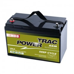 Batteria NDS TRAC POWER DEEP CYCLE 120Ah 12V [TP12-120S]