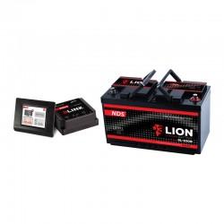 Batteria litio NDS 3LION LiFePO4 12V-100Ah con BMS da 100A e 3LINK