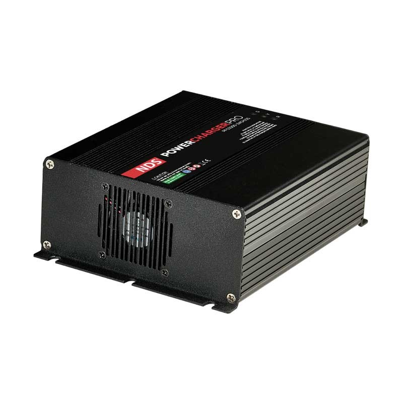 Caricabatterie professionale NDS 10A 24V [PFC0300-24CH10S]