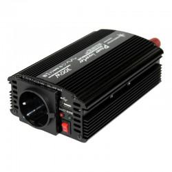 Inverter onda modificata 12V-230V 300W (picco 600W) uscita USB