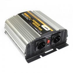 Inverter onda modificata 12V-230V 1000W (picco 2000W) uscita USB
