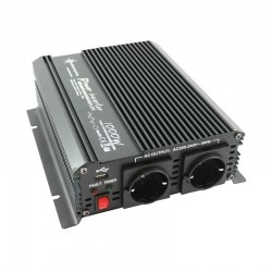 Inverter onda modificata 24V-230V 1000W (picco 2000W) uscita USB