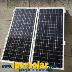 Staffa da parete 45° per pannello solare fotovoltaico 330W-350W-380W