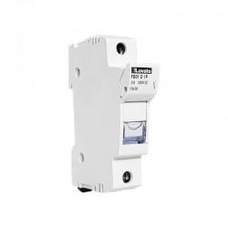 Portafusibile LOVATO 10x38 1P 1000V DC [FB01D1P]