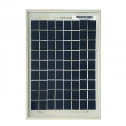 Pannello solare fotovoltaico 5W 12V Policristallino [SUN5P]
