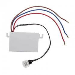 Interruttore a sensore crepuscolare 230V 10A regolabile 5-50 lux
