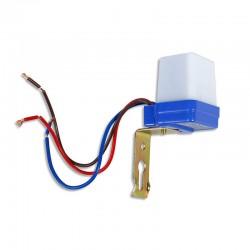 Interruttore a sensore crepuscolare 230V 6A per uso esterno