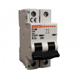 Interruttore magnetotermico LOVATO 25A CURVA C, 1P+N [P1 MB C25]