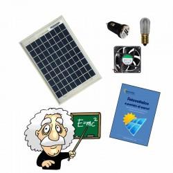 Kit didattici con pannello 5W per esperimenti con energia solare