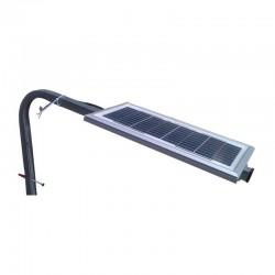 Supporto pannelli fotovoltaici 5W-25W per palo o ringhiera