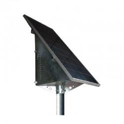 Supporto Testa Palo per pannelli solari con vano batterie [WTP50]