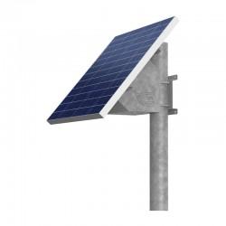 Supporto Testa Palo pannelli solari con vano per batteria 55Ah
